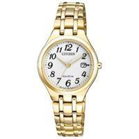 Đồng hồ nữ Citizen EW2482-53A (Máy Eco-Drive, lịch ngày, kích thước mặt 28mm)