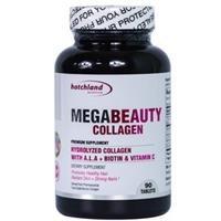 Thực phẩm chức năng bổ sung collagen đẹp da, dưỡng móng tóc Hotchland Nutrition Mega Beauty 4653