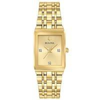 Đồng hồ nữ Bulova 97P140 (Mặt đính Diamond, kích thước mặt 20.5mm x 32mm)