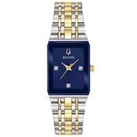 Đồng hồ nữ Bulova 98P177 (Đính Diamond, kích thước mặt 20.5mm x 32mm)