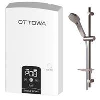 Máy nước nóng trực tiếp có bơm trợ lực OTTOWA TE45P01