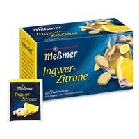 Trà túi lọc chanh gừng Ginger Lemon (Hộp 20 gói)