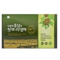 Thực phẩm bảo vệ sức khỏe Korean Red Ginseng & Oriental Raisin Tree – Hồng Sâm Hàn Quốc và Oriental Raisin Tree