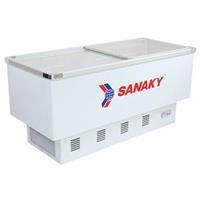 Tủ đông 1 ngăn 2 nắp kính lùa Sanaky VH 999K - 516 lít