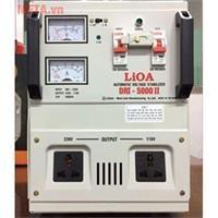 Ổn áp 1 pha Lioa 5KVA DRI 5000II (Dải điện áp đầu vào 90V - 250V)