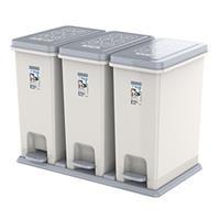 Thùng rác Duy Tân ECO 3 ngăn