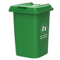 Thùng rác Duy Tân nắp kín 90 lít