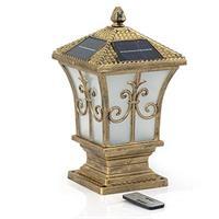 Đèn trụ cổng năng lượng mặt trời Suntek TC01 PLUS 7W