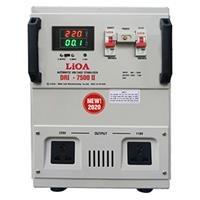 Ổn áp 1 pha Lioa DRII 7500 II (Dải điện áp đầu vào 50V - 250V )