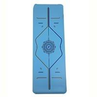 Thảm tập cao su Tree Yoga đa sắc (tặng kèm túi đựng và hộp)
