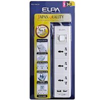 Ổ cắm điện ELPA ESU-VNC33 (3 ổ điện, 1 công tắc, 3m, 2xUSB)