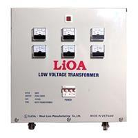 Biến áp đổi nguồn hạ áp 3 pha LiOA 10KVA - 3K101M2YH5YT (Tự ngẫu)
