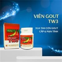 Thực phẩm bảo vệ sức khỏe - Viên Gout TW3