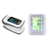 Combo máy đo SPO2  Bluetooth Jumper JPD-500F và máy đo huyết áp bắp tay JPD-HA120