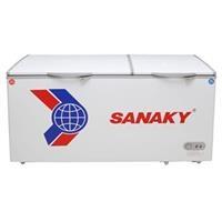 Tủ đông 2 ngăn đông và mát Sanaky VH-568W2 (365 lít, ngăn đông lớn, ngăn mát nhỏ)