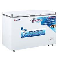 Tủ đông Alaska Inverter BCD-5568CI 372 lít (1 ngăn đông, 1 ngăn mát)