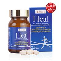 Thực phẩm bảo vệ sức khỏe hỗ trợ xương khớp Bewel Heal (45 viên)