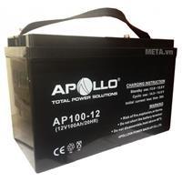 Ắc quy Apollo AP100-12 (100Ah-12V)