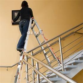 Thang nhôm, thang ghế rút gọn tiện lợi, an toàn cho cả chị em phụ nữ sử dụng