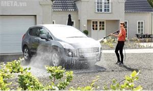 Máy rửa xe gia đình, máy phun xịt rửa chuyên dùng trong việc chăm sóc xe ô tô, xe máy