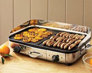 Bếp nướng điện, Vỉ nướng điện giá rẻ