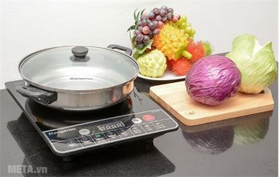 Bếp điện từ đơn phù hợp với gia đình ít người