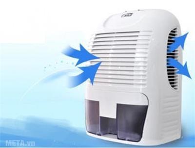 Máy hút ẩm gia đình giúp khử mùi ẩm mốc hiệu quả