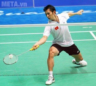 Vợt cầu lông đóng vai trò quan trọng trong tập luyện và thi đấu