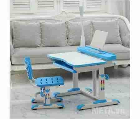 bo ban hoc thong minh best desk sprite xanh da troi