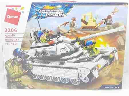 do choi lap ghep qman tank attack tm3206 cuoc tan cong cua xe tang 1