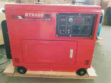 may phat dien diesel btec bt6000ces a