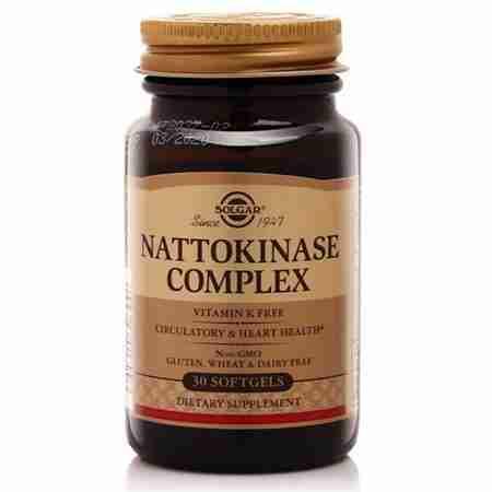 thuc pham bao ve suc khoe nattokinase complex solgar 30 vien 1