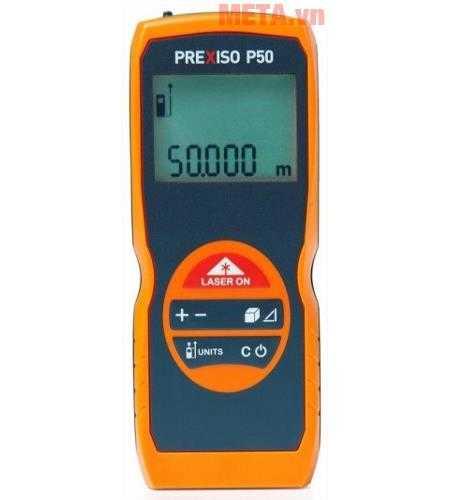 may do khoang cach laser prexiso p50 anh500