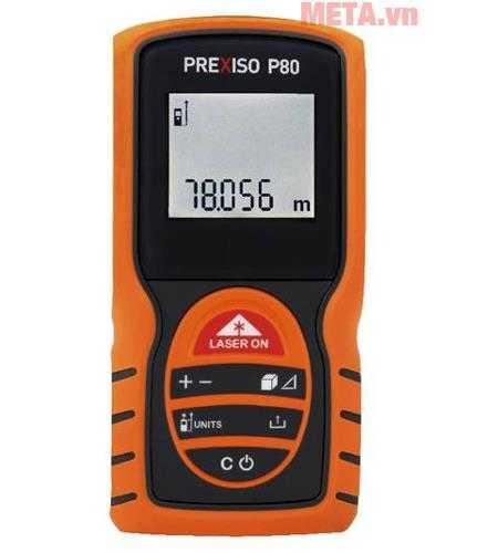 may do khoang cach laser prexiso p80 anh500