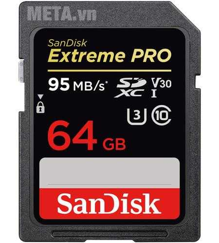 the nho may anh 64gb sandisk extreme sdsdxve
