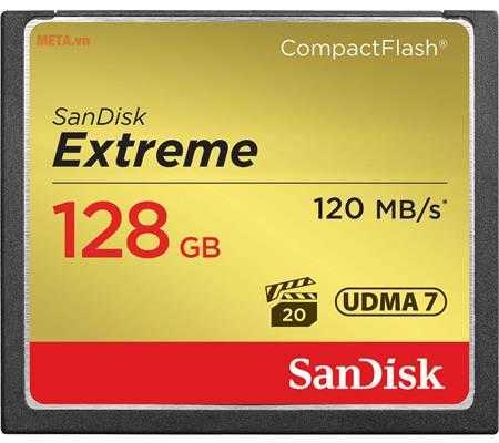 the nho may anh 128gb sandisk cf extreme sdcfxsb 128g g46