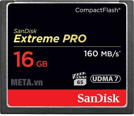 the nho may anh 16gb sandisk cf extreme pro