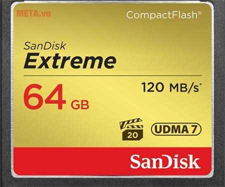 the nho may anh 64gb sandisk cf extreme to