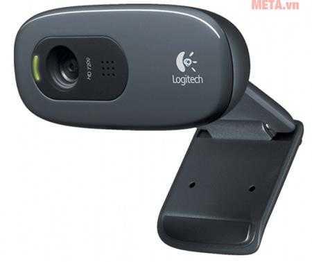webcam ghi hinh hd logitech c270 anh500