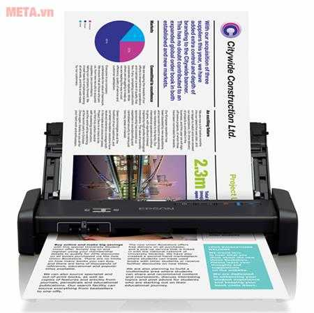 may scan epson workforce ds 310