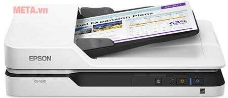 may scan epson ds 1630 to