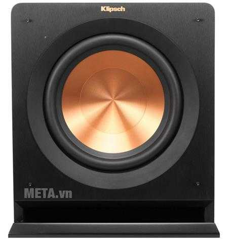 loa klipsch reference r 110sw truoc