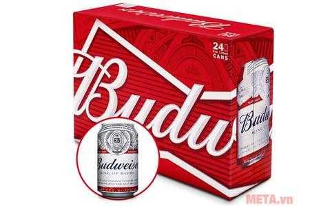 bia budweiser thung 24 lon anh500