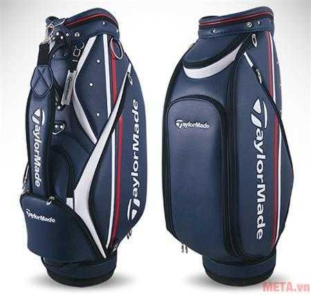tui golf taylormade cb rookie caddie bag ci2980 xanh