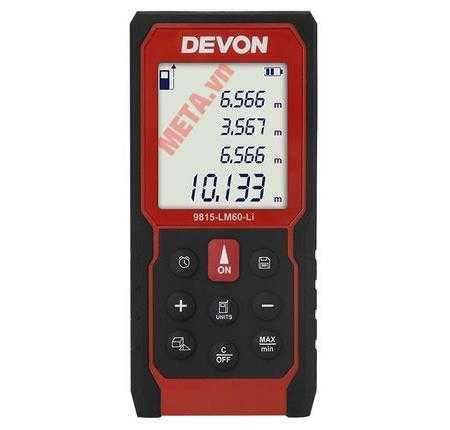 may do khoang cach laser devon 9815 lm60 li 500