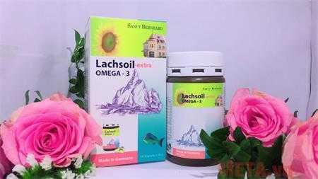 thuc pham chuc nang sanct bernhard lachsoil extra omega 3 500