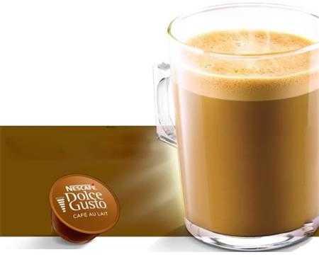 vien nen ca phe vi ca phe sua nescafe dolce gusto cafe au lait