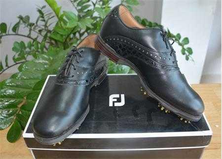 giay golf nam footjoy icon black 52036