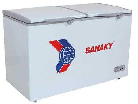 tu dong 1 ngan 2 canh inverter sanaky vh 4099a3 400 lit