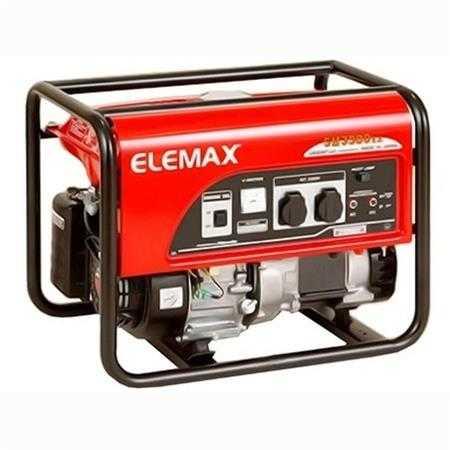 may phat dien chay xang elemax sh3900ex